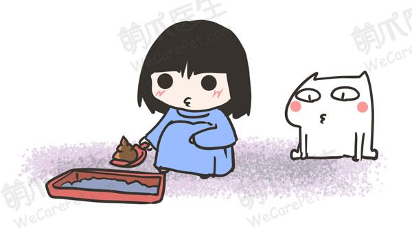 卡通萌猫爪表情